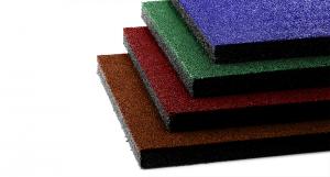 Резиновая цветная плитка (20 мм)
