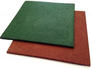 Резиновая цветная плитка (10 мм)